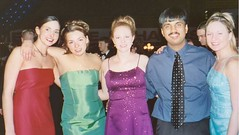 Joy with some American beauties! @ Pres Ball 2003