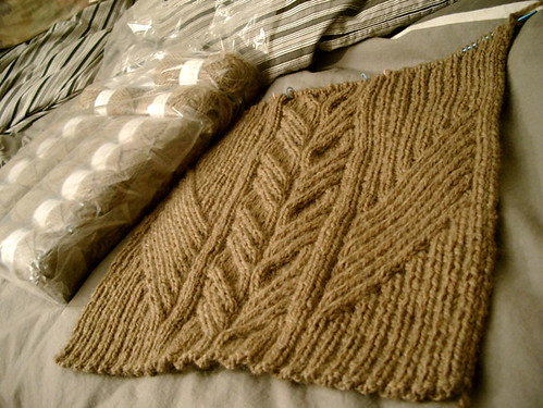 Urban Aran In Progress (Back)