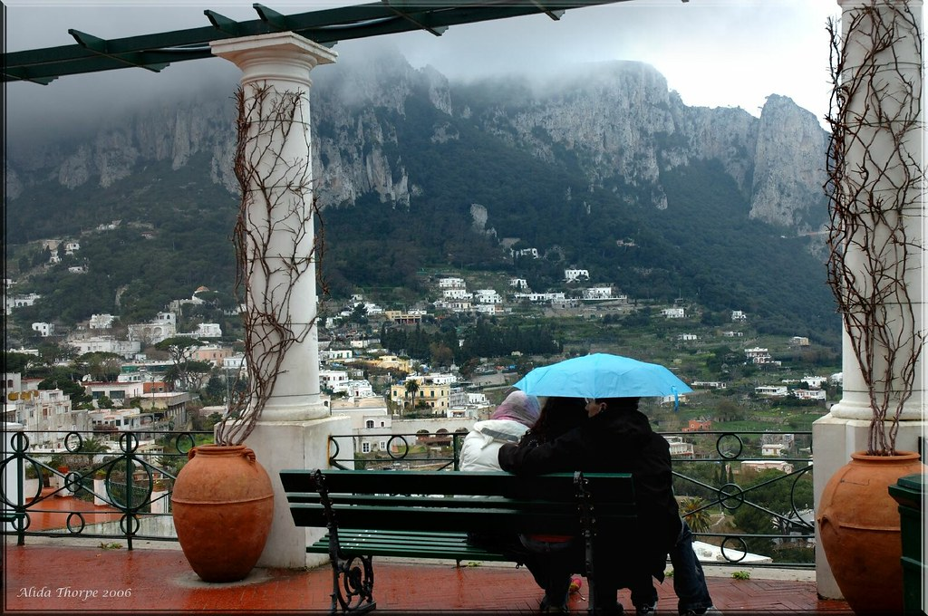 Rainy Day on Capri