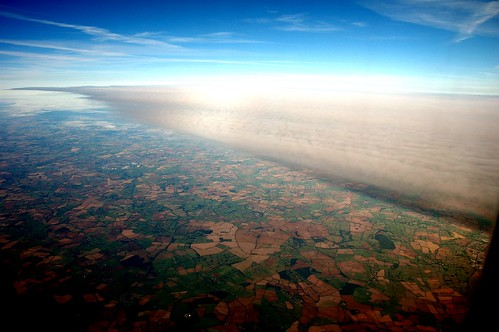 A wing made of cloud
