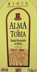 Alma de Tobia - Barrel Fermented Rose