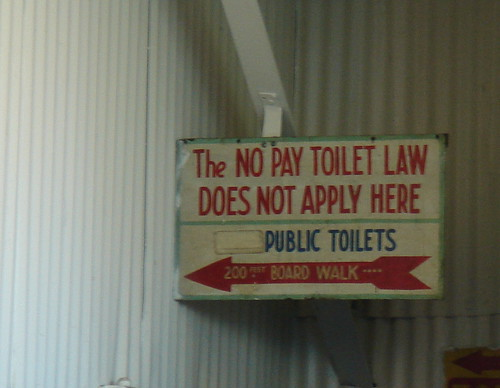 The New Pay Toiler Law Does Not Apply Here