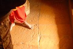 Hindu Priest Foot, Jaisalmer, Rajasthan, India Captured April 14, 2006.