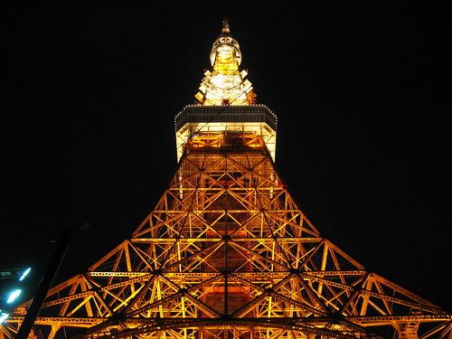 Tokyo Tower - žablja, tj. ljudska perspektiva