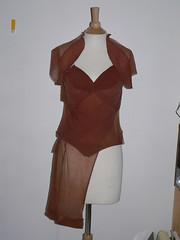 1940's nylon riot dress