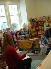A rapt Storytime audience