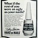 Seventeen Magazine, Oct 1972 - ugly nails