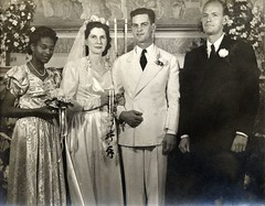 Wedding Picture - Grandmother and Grandfather