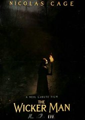 "Teaser Poster de ""The Wicker Man"""