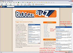 Firefox Extension for Blogger Web Comments (1/4)