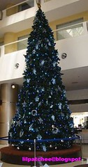 Atrium Cafe's Christmas Tree