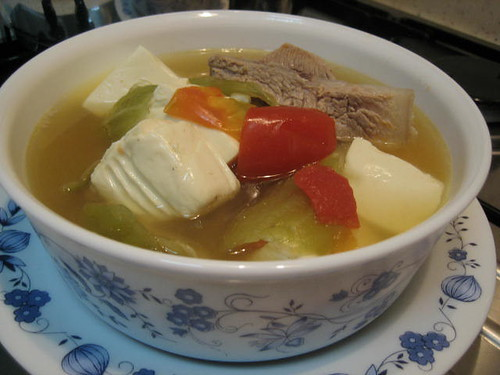 Salted Vegetable Soup