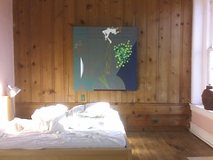 Mike Martin's painting in my bedroom