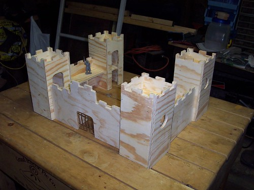 Castle Toy Box Plans Wooden Toy Castle Plans