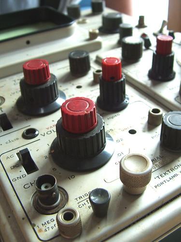 Techtronic osciloscope