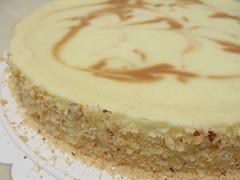 Vanilla-Hazelnut Cheesecake