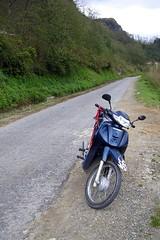 Bike on Sapa Road