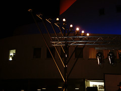 Public kindling of the chanukkah Menorah in Dusseldorf