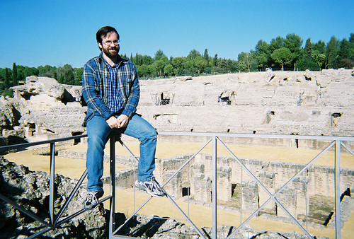 Me and the Roman arena