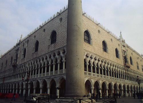 Palazzo Ducale, Venice, taken by Helen