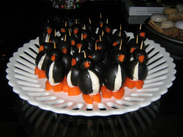 March of the Black Olive Penguins