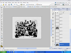 009 Photoshop image layered for painting & fills