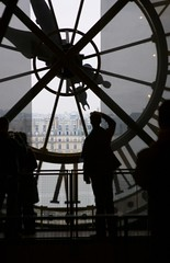 View through the Clock - Musée d'Orsay