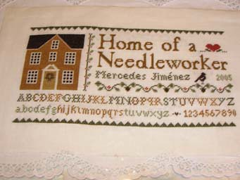 House of a needleworker terminado