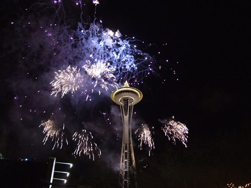 New Years at the Needle