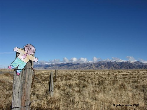 Flat Bobby views the Humboldt Range