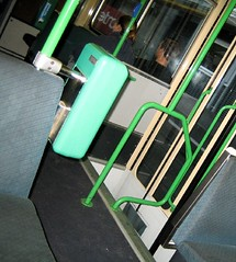 Tram interior (flash)