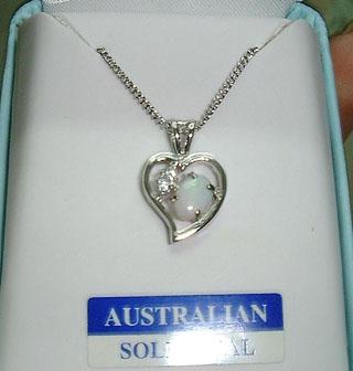 Aus Opal Necklace