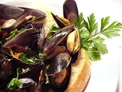 Mussels closer