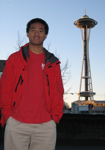 Me with Space Needle