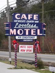 Sign, Loveless Cafe, Bellevue TN