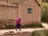 Paisana keep walking. Caspana, provincia el Loa, II region.