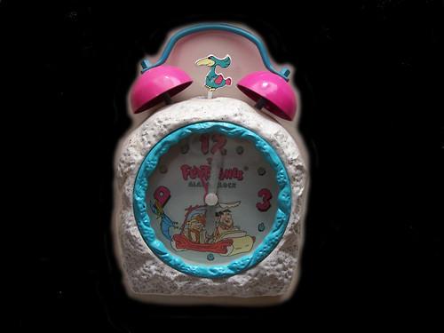 Flintstones alarm clock