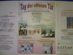 Werbeplakat für Lehrgang Grafikdesign