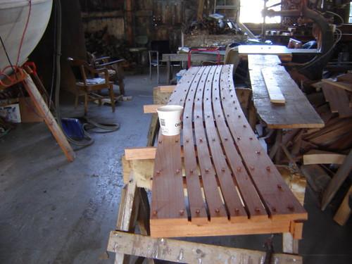 Spanish Cedar seat