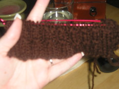 brown_baby cable_swatch