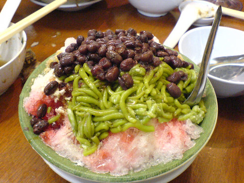 Red Bean and Cendol
