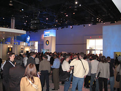 Windows Vista in Microsoft booth