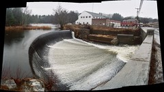Dam on Souhegan River in Merrimack, NH (scene 1)