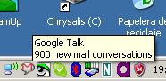 900 emails pendientes en Gmail