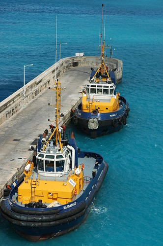 Tug Boats in Barbados