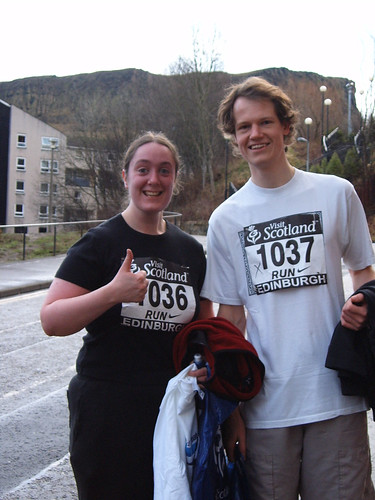 Edinburgh Great Winter Run - we finished!