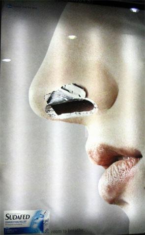 ipub.ca.cx la carte postale publicitaire de Ge et Jeanju Londres sudafed