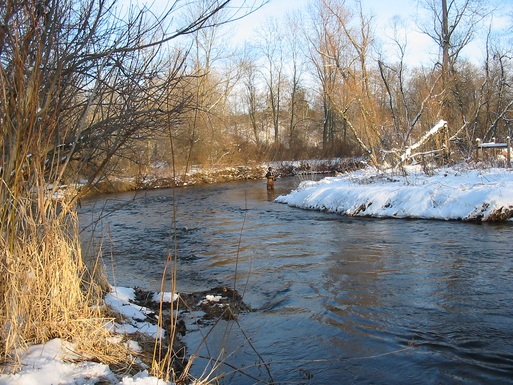 January afternoon on 'Secret Creek'