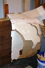 Cardboard wall