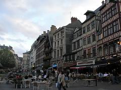 Rouen's vieux-marche